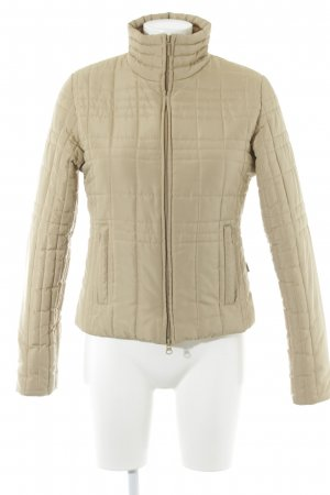 Vero Moda Steppjacke beige Glanz-Optik
