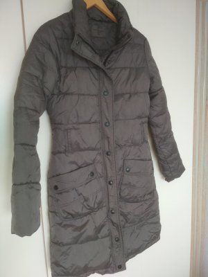Vero Moda Quilted Coat dark grey