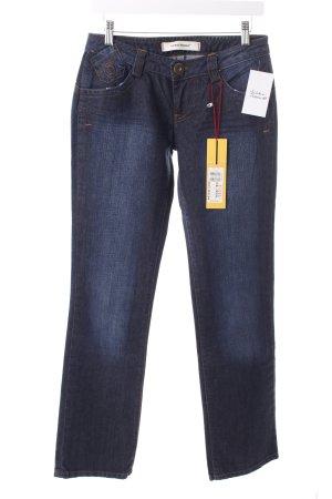 "Vero Moda Straight-Leg Jeans ""Mona"" dunkelblau"