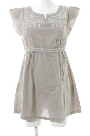Vero Moda Strandkleid graubraun Romantik-Look
