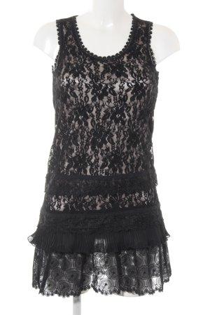 Vero Moda Strandkleid schwarz Casual-Look