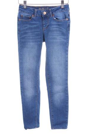 Vero Moda Stretch Jeans kornblumenblau Jeans-Optik