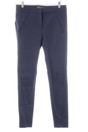Vero Moda Stretchhose dunkelblau Business-Look
