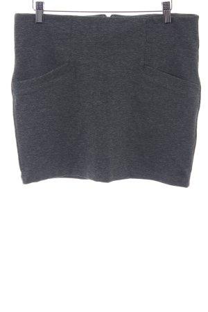 Vero Moda Stretchrock grau-dunkelgrau schlichter Stil