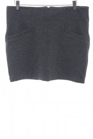 Vero Moda Stretch rok grijs-donkergrijs simpele stijl