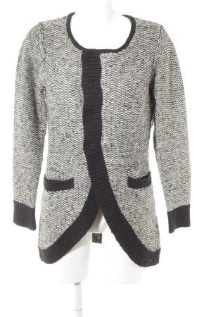 Vero Moda Strick Cardigan schwarz-weiß Streifenmuster Casual-Look