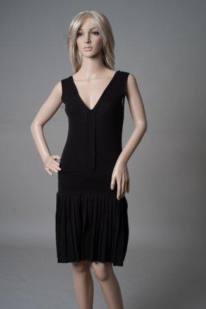 Vero Moda Strick-Kleid schwarz Größe S