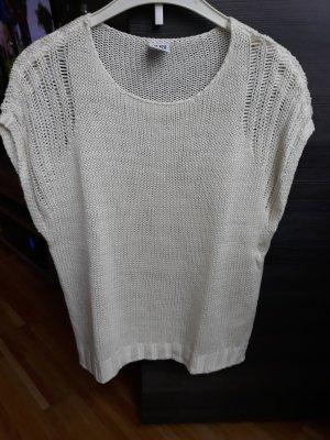 Vero Moda T-shirts en mailles tricotées blanc