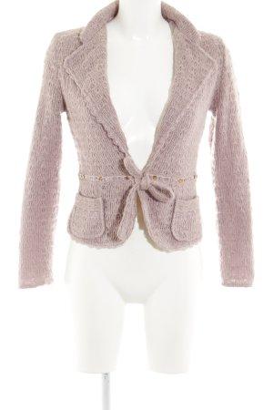 Vero Moda Blazer in maglia rosa antico Acrilico