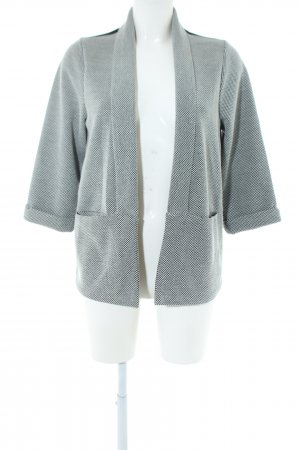 Vero Moda Knitted Blazer light grey allover print casual look