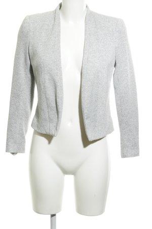 Vero Moda Blazer in maglia grigio chiaro-grigio puntinato stile casual