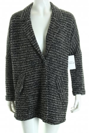 Vero Moda Knitted Blazer black-white casual look