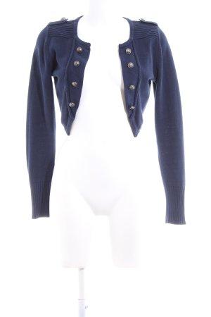 Vero Moda Boléro en tricot bleu style décontracté