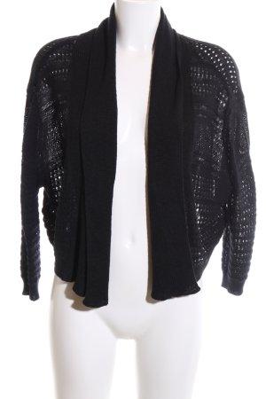 Vero Moda Boléro en tricot noir style décontracté