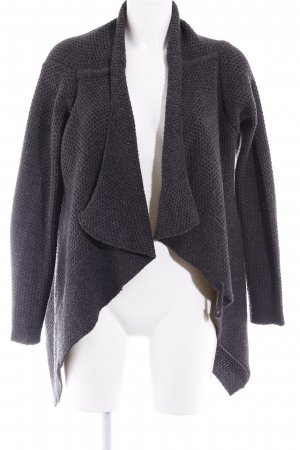 Vero Moda Strickjacke anthrazit Casual-Look
