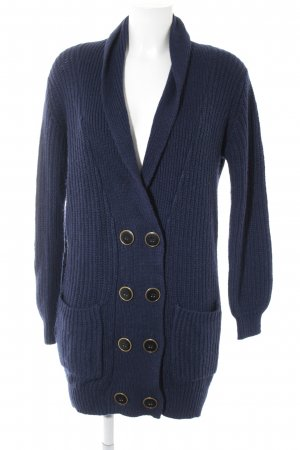 Vero Moda Strickjacke blau Casual-Look