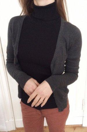 Vero Moda Strickjacke grau Baumwolle XS 34 NEU