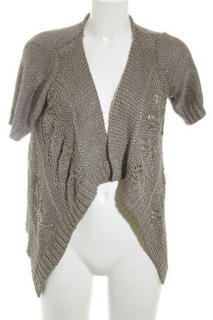 Vero Moda Strickjacke graubraun klassischer Stil