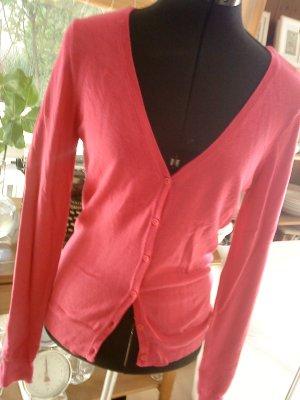 Vero moda Strickjäckchen pink/magenta Größe S