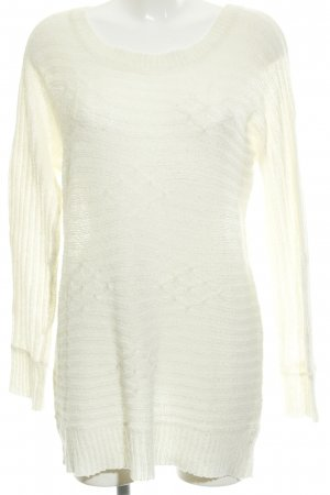 Vero Moda Strickkleid creme Casual-Look