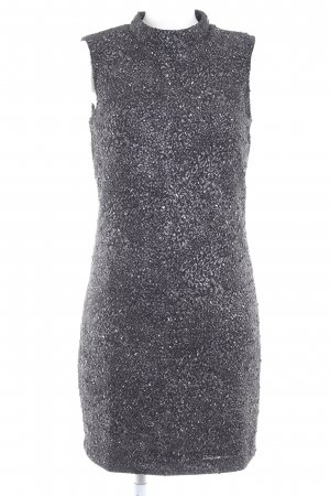 Vero Moda Knitted Dress black-silver-colored casual look