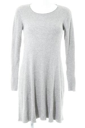 "Vero Moda Strickkleid ""VMHermosa LS Dress"" hellgrau"