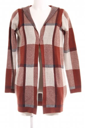 Vero Moda Knitted Coat check pattern casual look