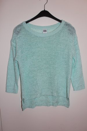 Vero Moda Strickpullover 3/4 Pullover grün mintgrün Damen Gr. XS