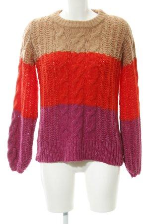 Vero Moda Strickpullover Colourblocking Casual-Look
