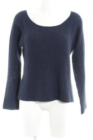 Vero Moda Strickpullover dunkelblau Casual-Look