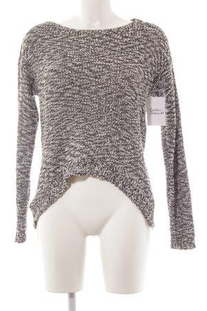 Vero Moda Strickpullover schwarz-weiß Casual-Look
