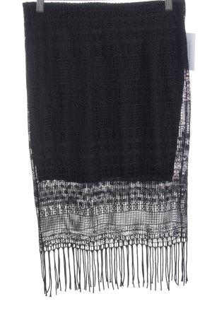Vero Moda Jupe tricotée noir style Boho
