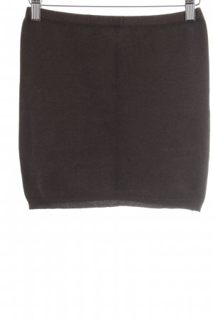 Vero Moda Knitted Skirt black brown casual look