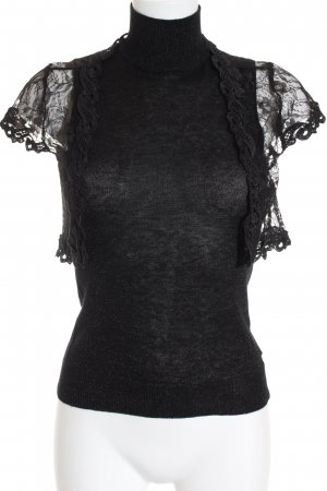 Vero Moda Knitted Top black casual look