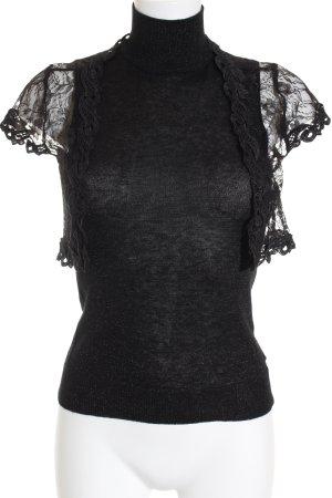Vero Moda Gebreide top zwart casual uitstraling