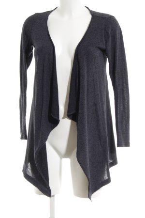 Vero Moda Knitted Wrap Cardigan blue flecked casual look
