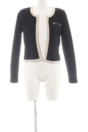 Vero Moda Sweatblazer schwarz-weiß klassischer Stil