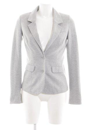 Vero Moda Sweatblazer hellgrau meliert Business-Look