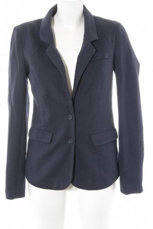 Vero Moda Sweatblazer dunkelblau Punktemuster Business-Look