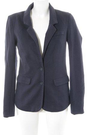 Vero Moda Sweat Blazer dark blue spot pattern business style