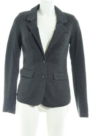 Vero Moda Sweat Blazer dark grey flecked business style