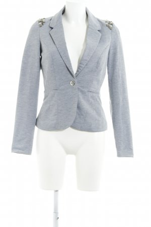 Vero Moda Sweatblazer hellgrau Business-Look
