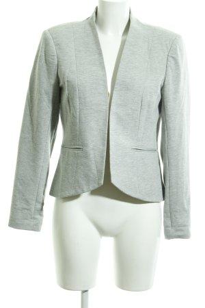 Vero Moda Blazer de tela de sudadera gris claro look casual