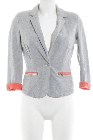 Vero Moda Sweat Blazer light grey-red flecked casual look