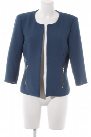 Vero Moda Sweat Blazer cadet blue-black business style