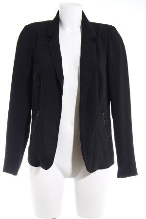 Vero Moda Sweatblazer schwarz Casual-Look