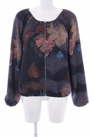 Vero Moda Sweatjacke dunkelblau Casual-Look