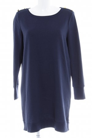 Vero Moda Sweatkleid dunkelblau Casual-Look