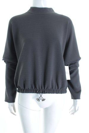 Vero Moda Sweatshirt dunkelgrau Urban-Look