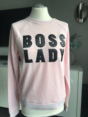 Vero Moda Sweatshirt rosa mit Aufschrift Gr M